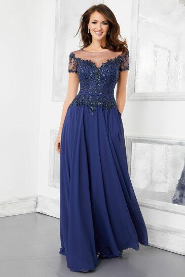 Vestido para Mamá 72309 Azul