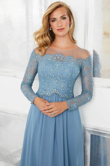 Vestido para Mamá 72310 Azul